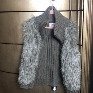 I'm selling a grey vest